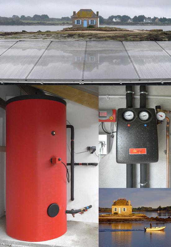 installation d un chauffe eau solaire au camping de saint. Black Bedroom Furniture Sets. Home Design Ideas