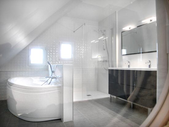 r novation d une salle de bain marzan dans le morbihan energies libres. Black Bedroom Furniture Sets. Home Design Ideas