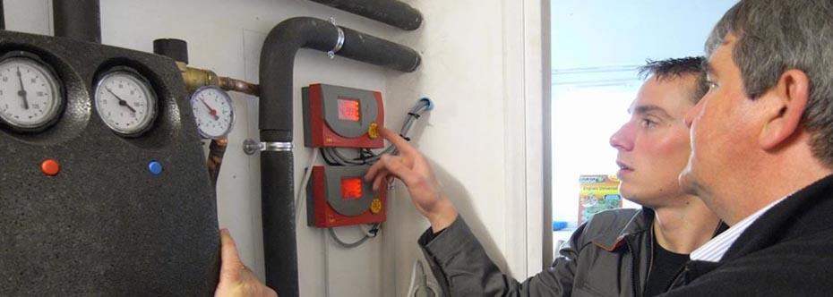 Energies Libres & Ouest Solutions Thermiques installent un chauffage solaire à Auray