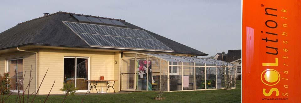 Installation d'un chauffe-eau solaire à Plumelec