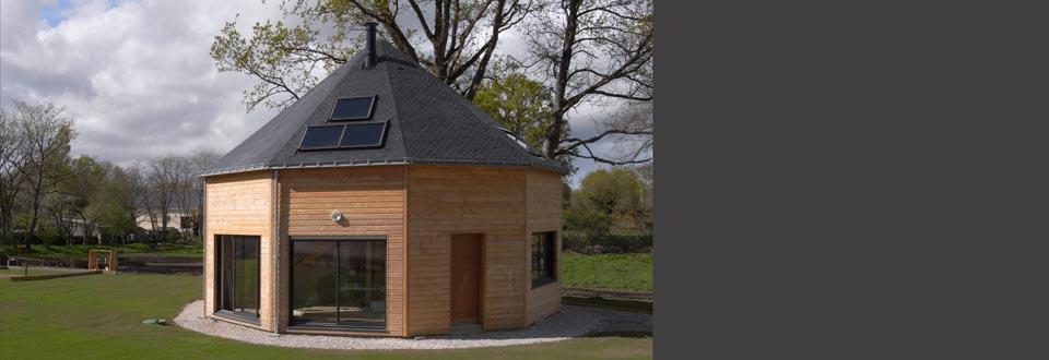 Installation d'un chauffe-eau solaire à Lauzach dans le Morbihan