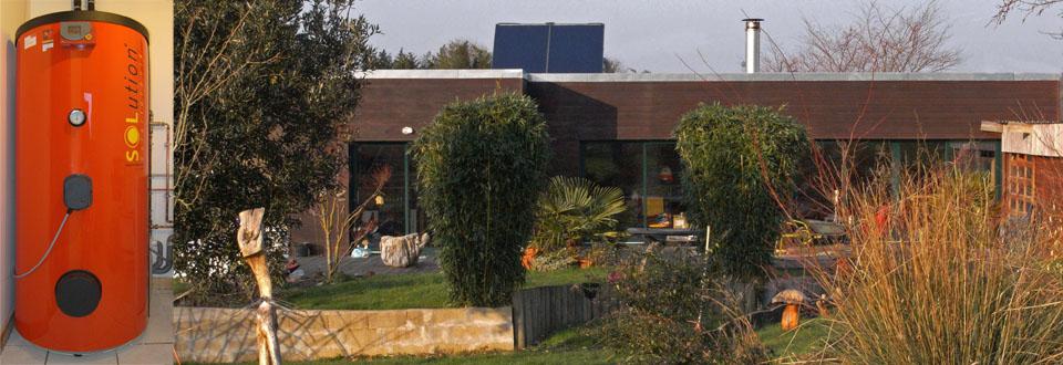 Installation d'un chauffe eau solaire à Plaudren dans le Morbihan