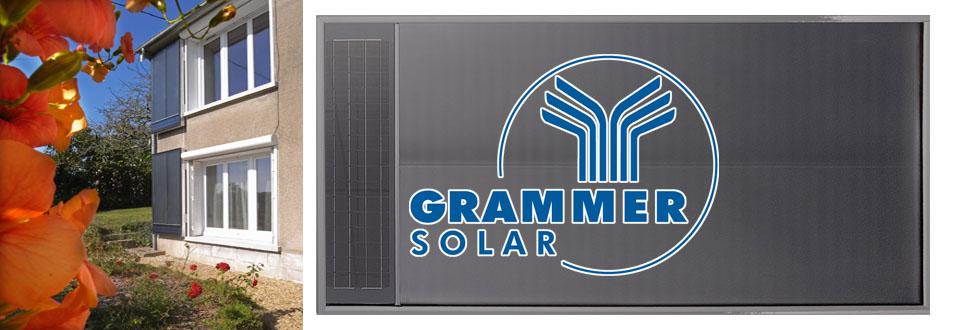 Installation de capteur à air Grammer Solar en Bretagne