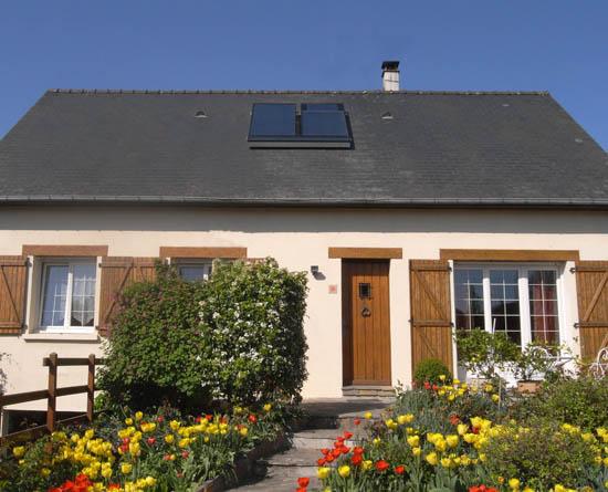 Energies Libres installe une  ventilation / chauffage solaire  en Mayenne