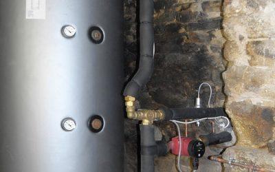 Installation d'un poêle bouilleur à Elven par Energies Libres